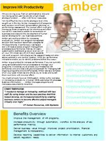 HR Program Management Software