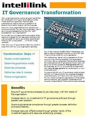 IT Governance Transformation Brochure